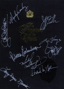 Autographed by cast